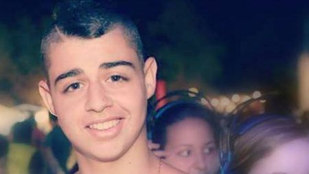 "Eden Atias, z""l. Murdered by an Arab terrorist."