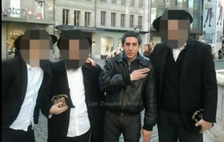 The quenelle with Haredi Jews