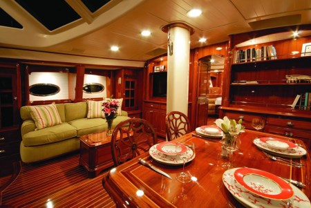 Inside John Kerry's yacht Isabel