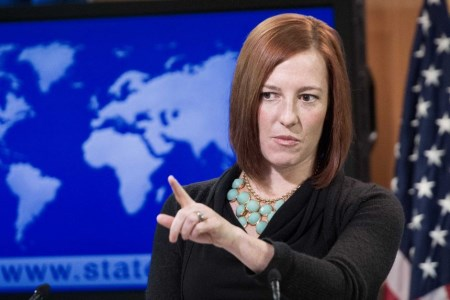 "State Department spokesman Jen Psaki: ""No one is talking about an obligation"""